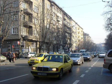 How to cross the streets in Sofia, Bulgaria
